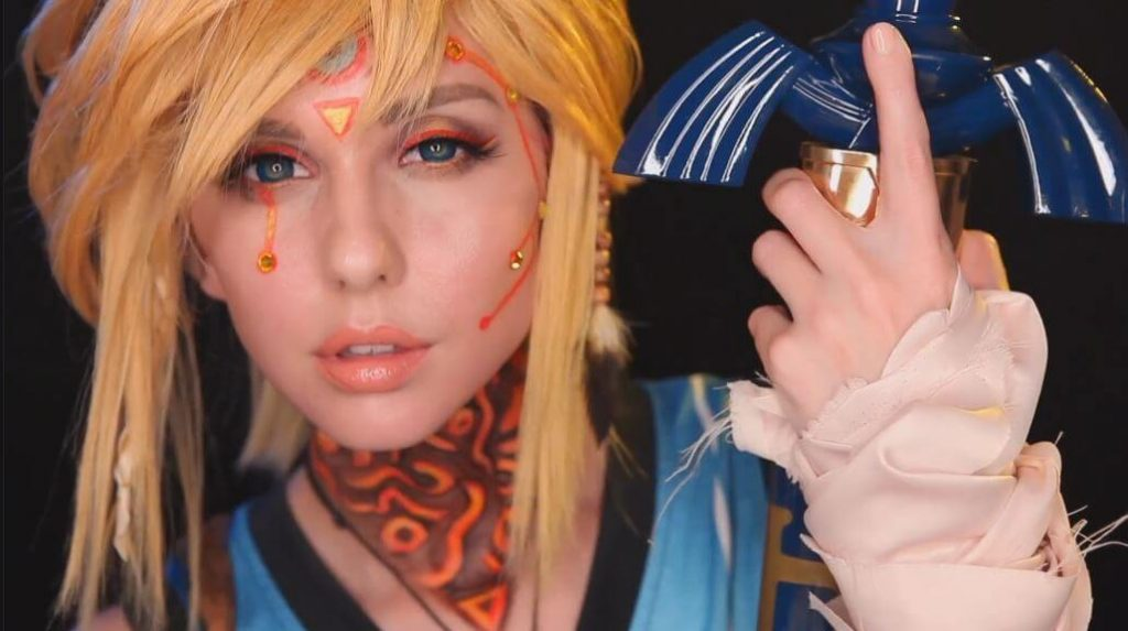 Breath of the Wild Cosplay Makeup