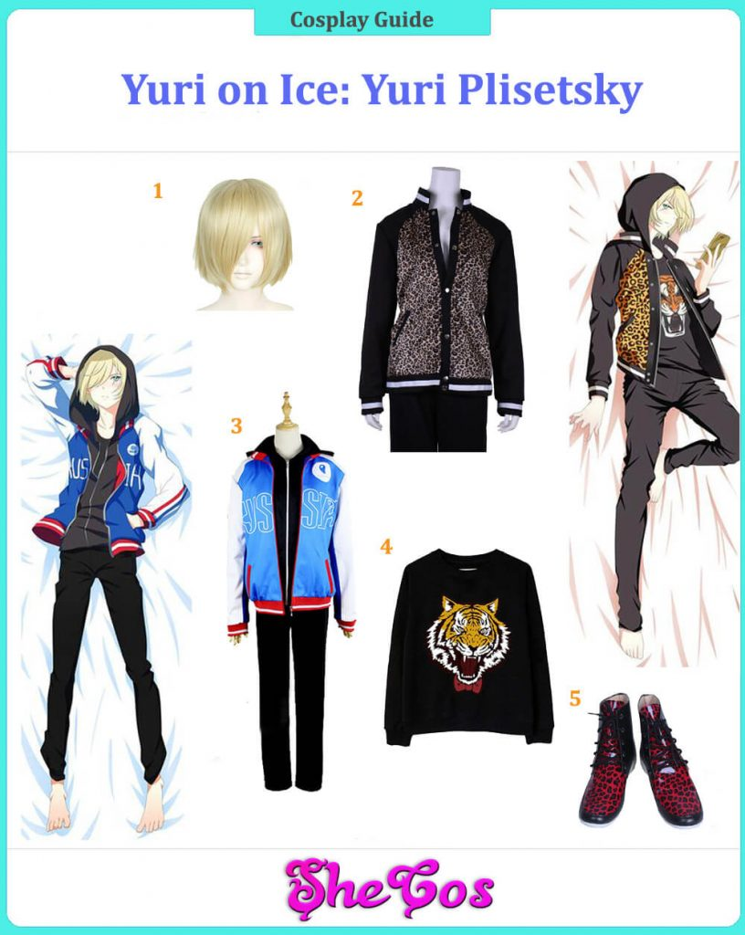 Yuri Plisetsky Cosplay Guide