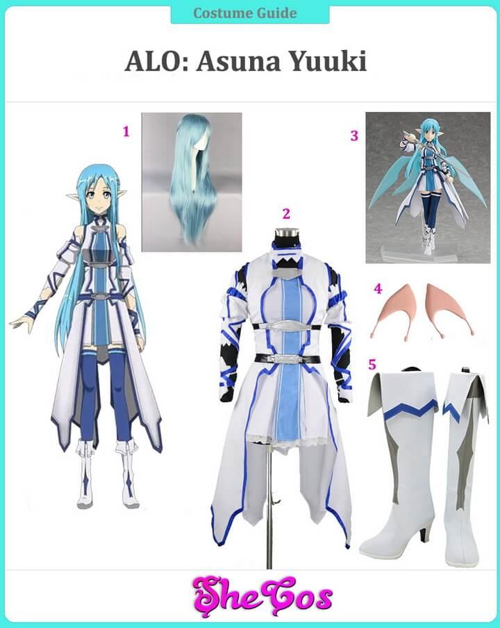ALfheim Online Asuna Cosplay Guide