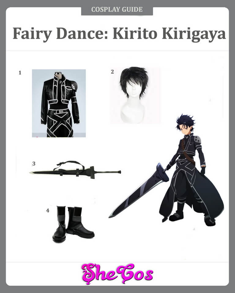 Fairy Dance Kirito Cosplay Guide