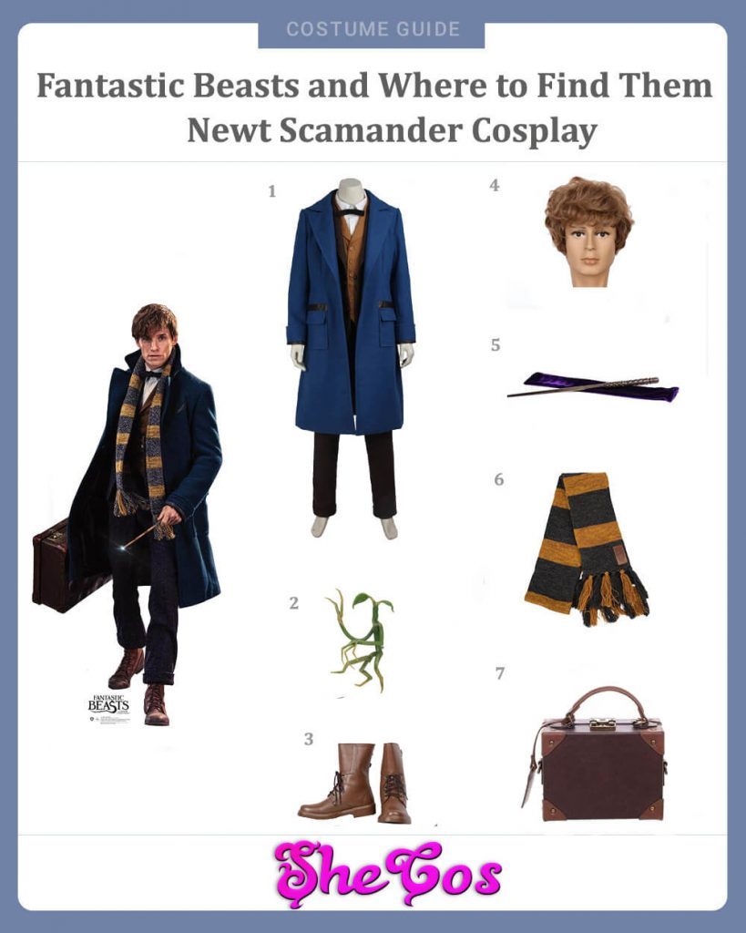 Fantastic Beasts and Where to Find Them Newt Scamander Cosplay Guide