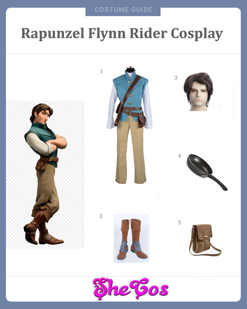 Flynn Rider Cosplay Guide