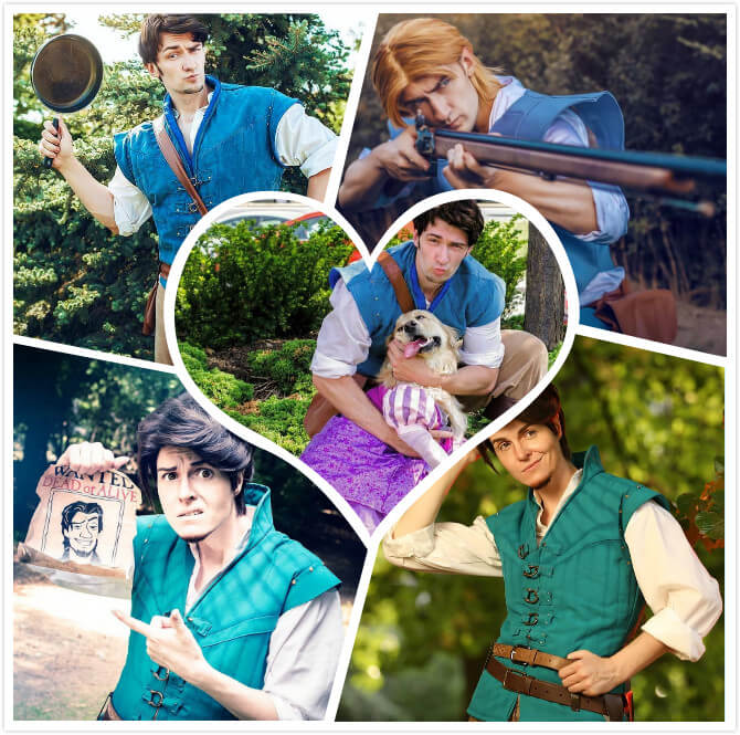 best Flynn Rider Cosplay