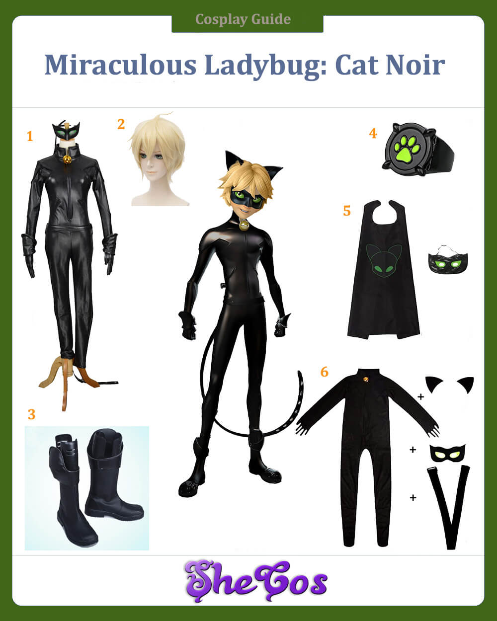 Miraculous Ladybug Cat Noir Cosplay Guide