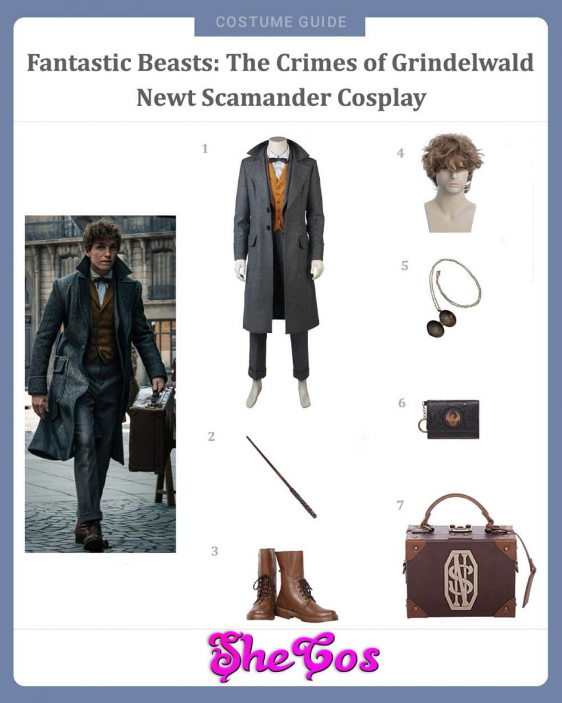 Newt Scamander from Fantastic Beasts The Crimes of Grindelwald Cosplay Guide