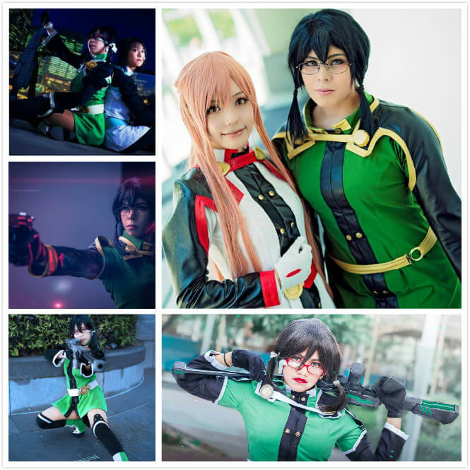 Best Ordinal Scale Sinon Cosplay