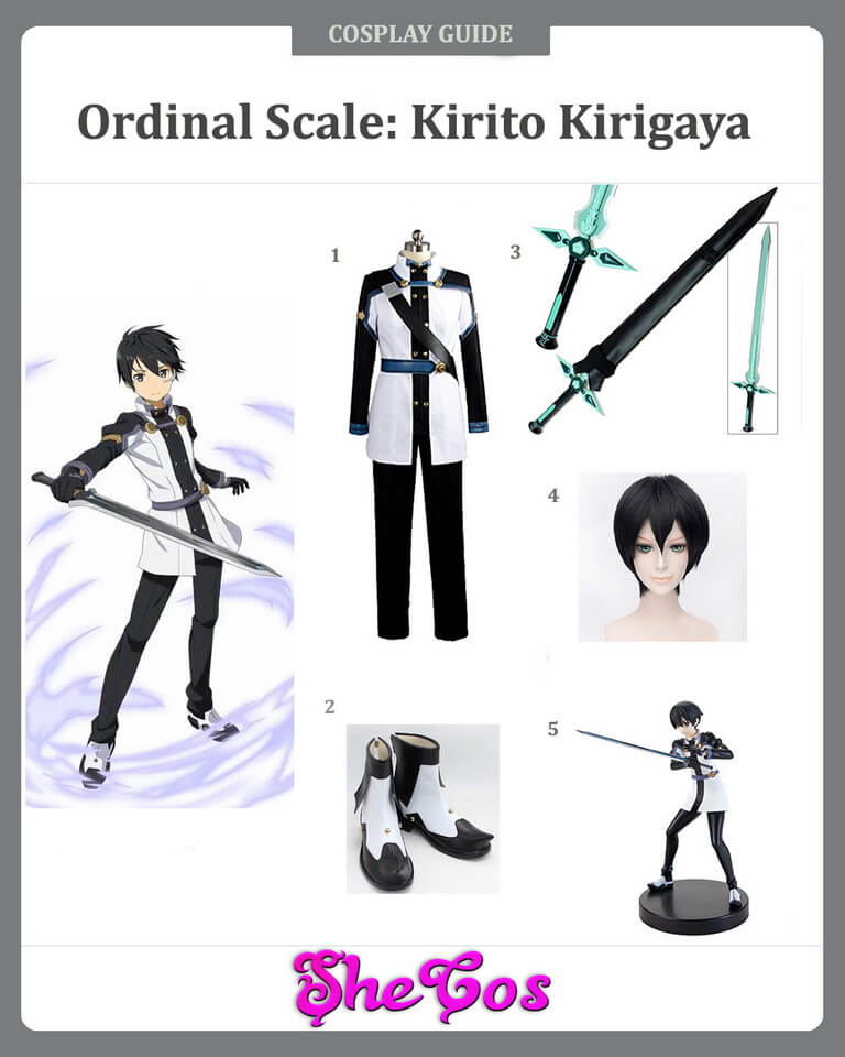 Ordinal Scale Kirito Cosplay Guide