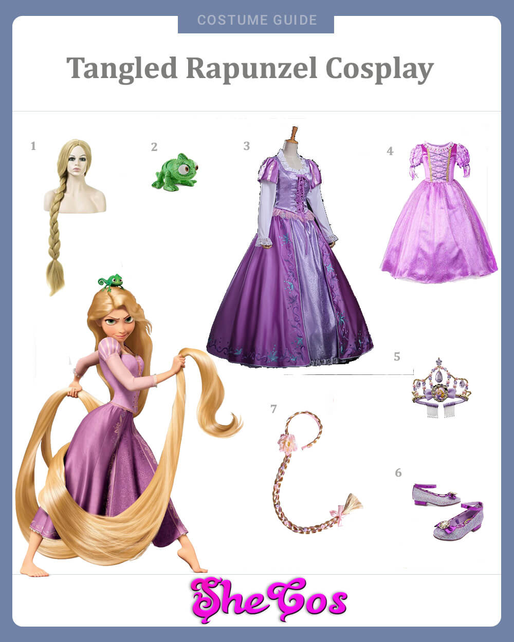 Tangled Rapunzel Cosplay Guide
