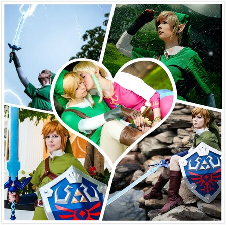best skysword link cosplay