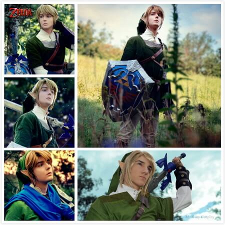 best twilight princess link Cosplay
