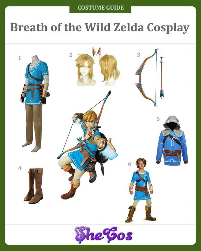 breath of the wild zelda cosplay guide