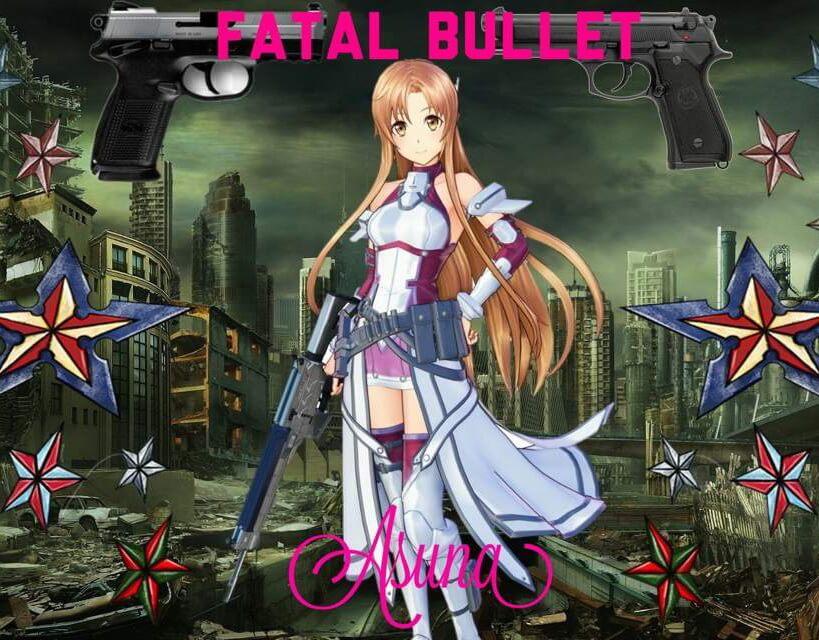 fatal bullet asuna cosplay