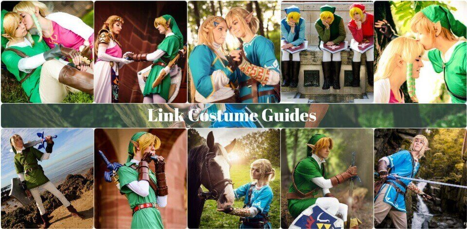 link cosplay guides