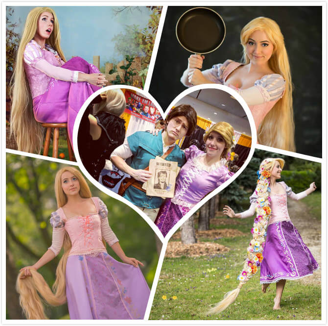best rapunzel cosplay