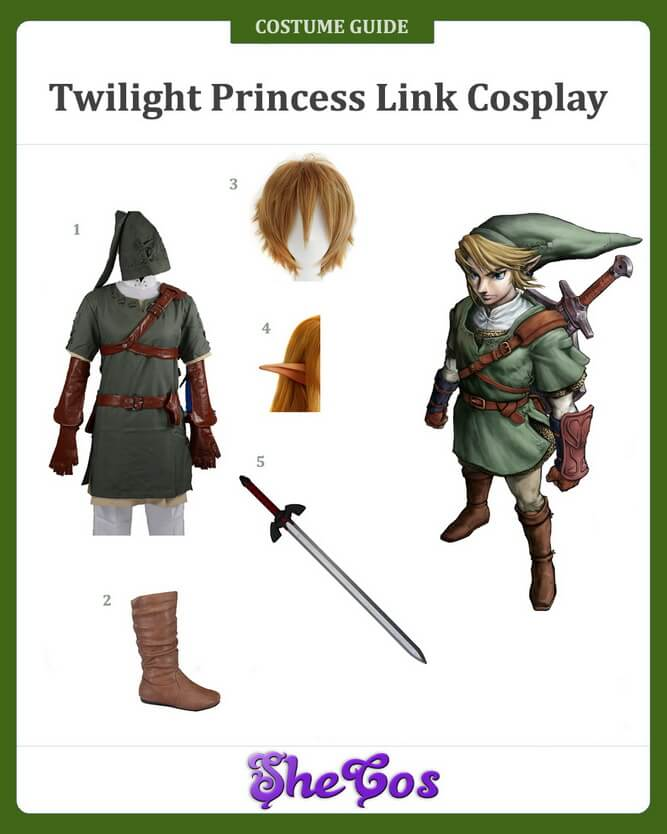 twillight princess zelda cosplay guide