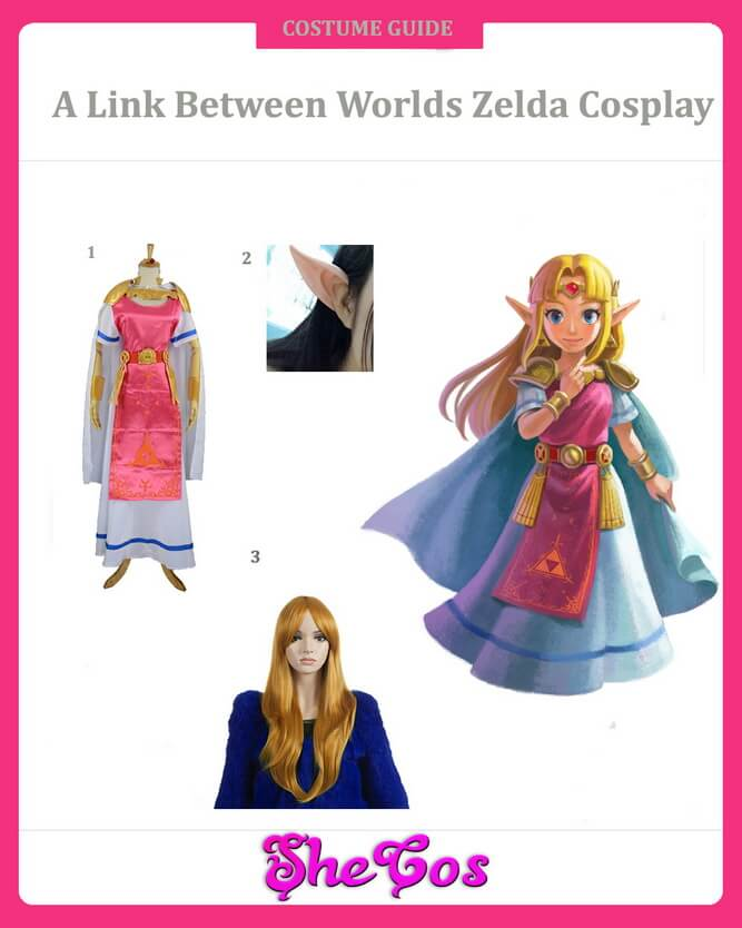 A Link between worlds zelda cosplay guide