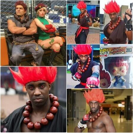 best Akuma cosplay