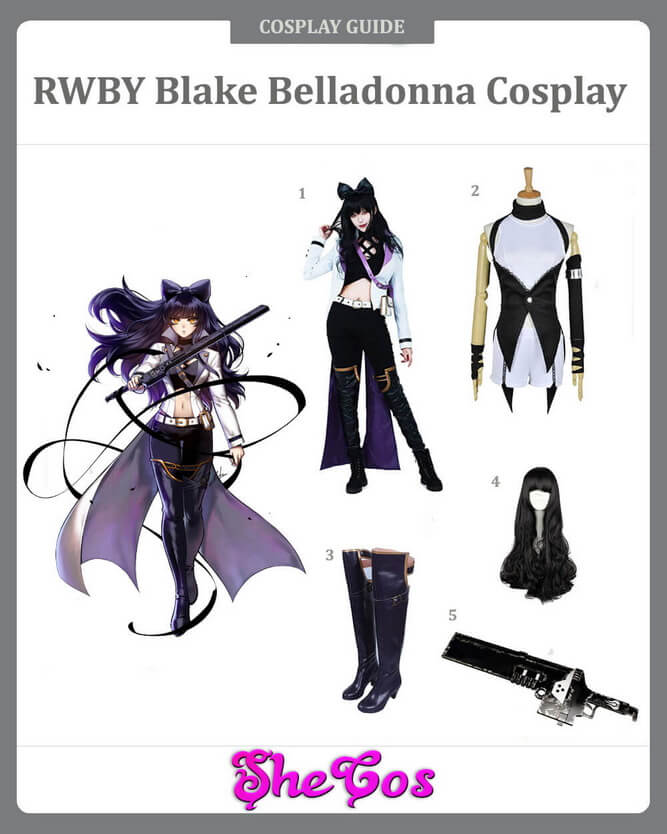 Blake Belladonna cosplay guide