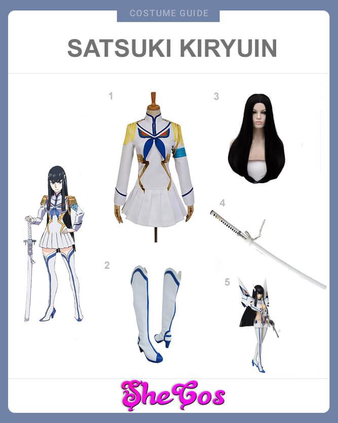 Satsuki Kiryuin costume guide