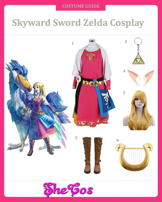 Skyward sword Zelda cosplay guide