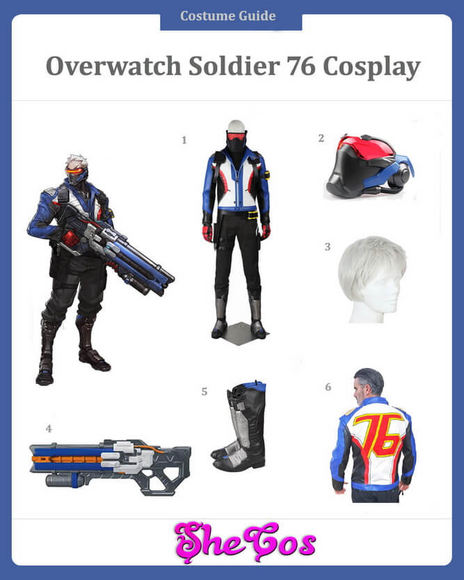 Soldier 76 Cosplay Guide