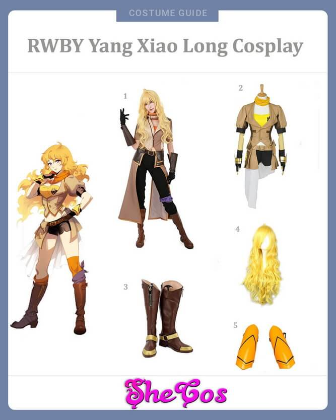 Yang Xiao Long cosplay guide