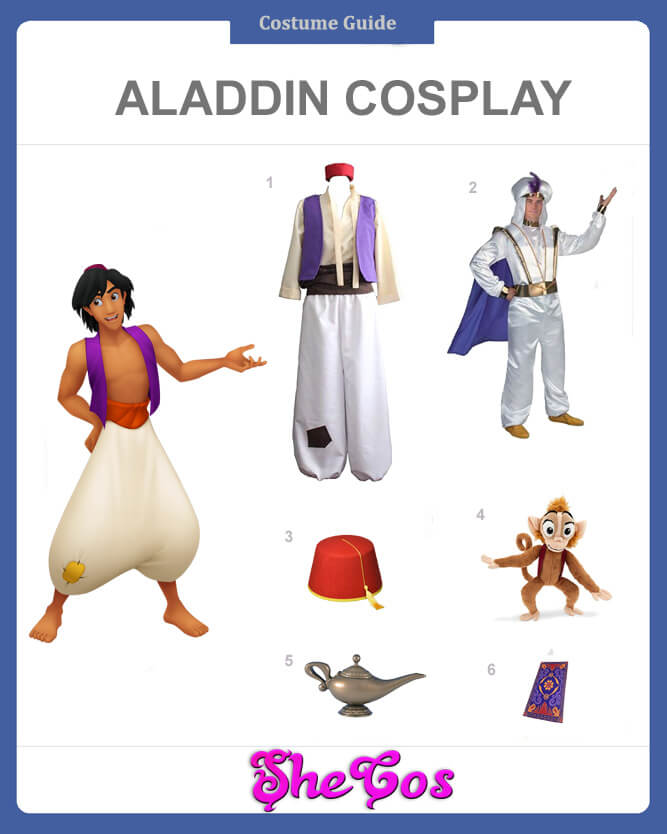 aladdin cosplay guide