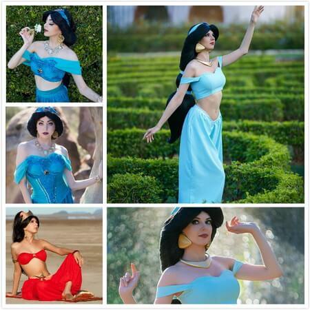 best jasmine cosplay