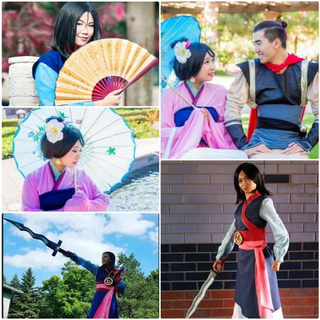 best mulan cosplay