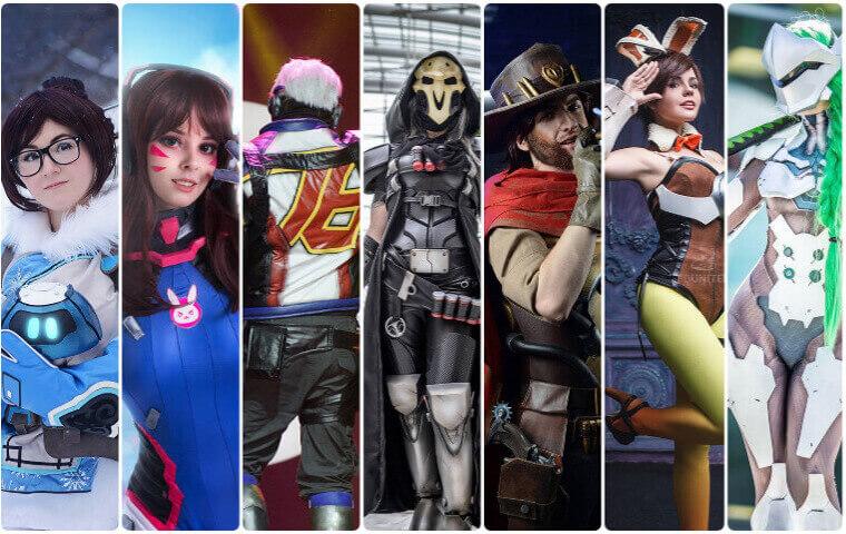best overwatch cosplay
