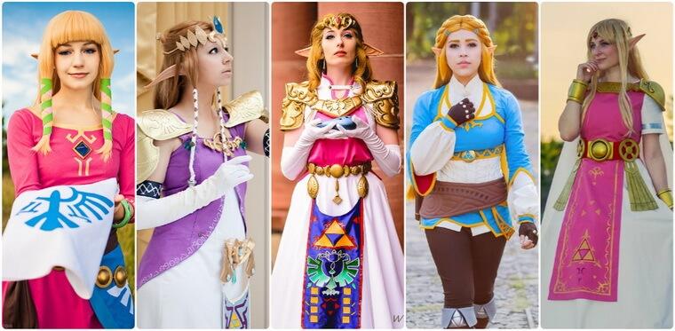 Top 5 Princess Zelda Costume Ideas From The Legend Of Zelda