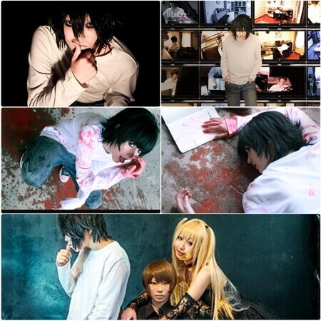 best death note l cosplay