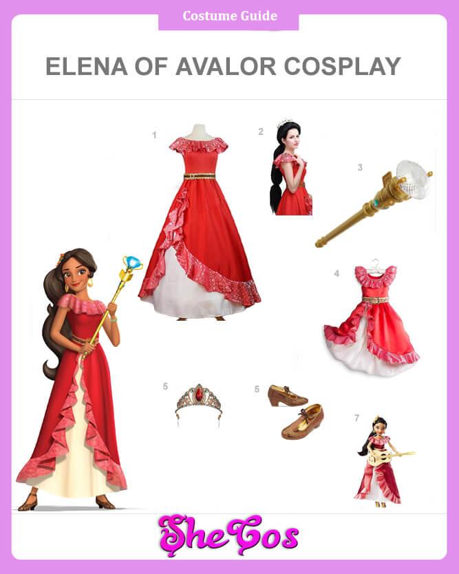 elena costume guide
