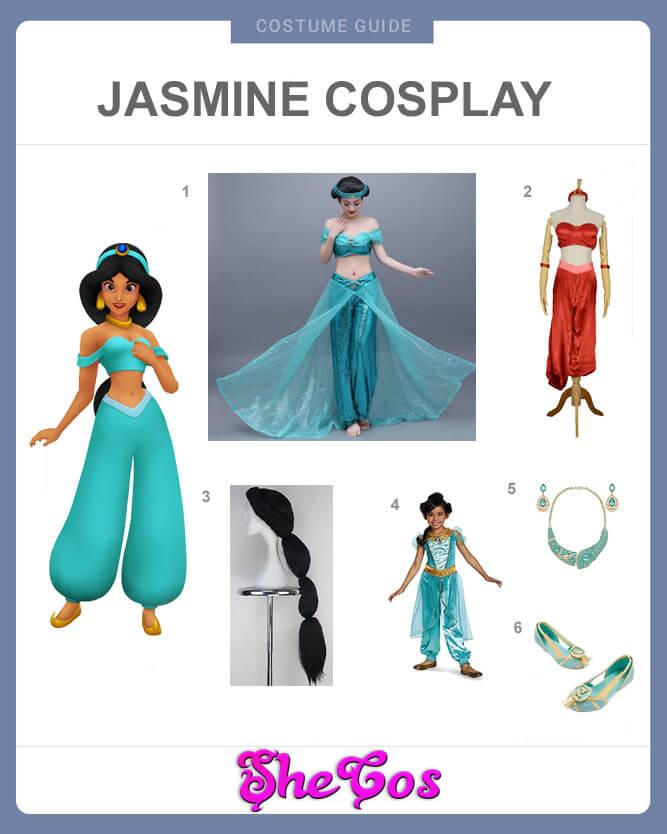 jasmine cosplay guide