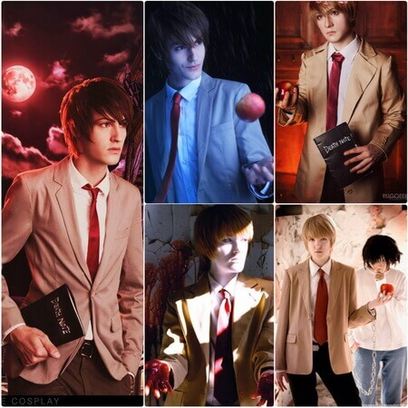 best light yagami cosplay