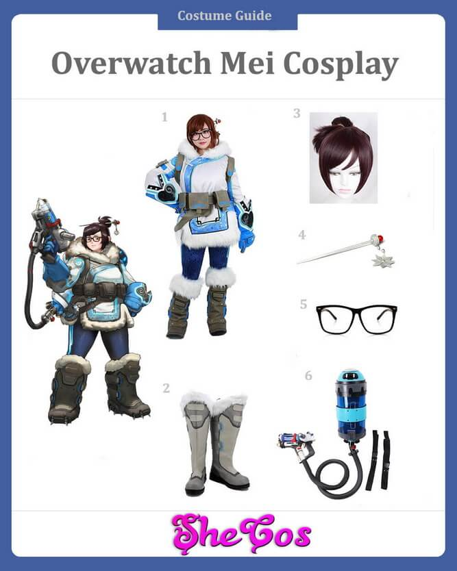 mei cosplay guide