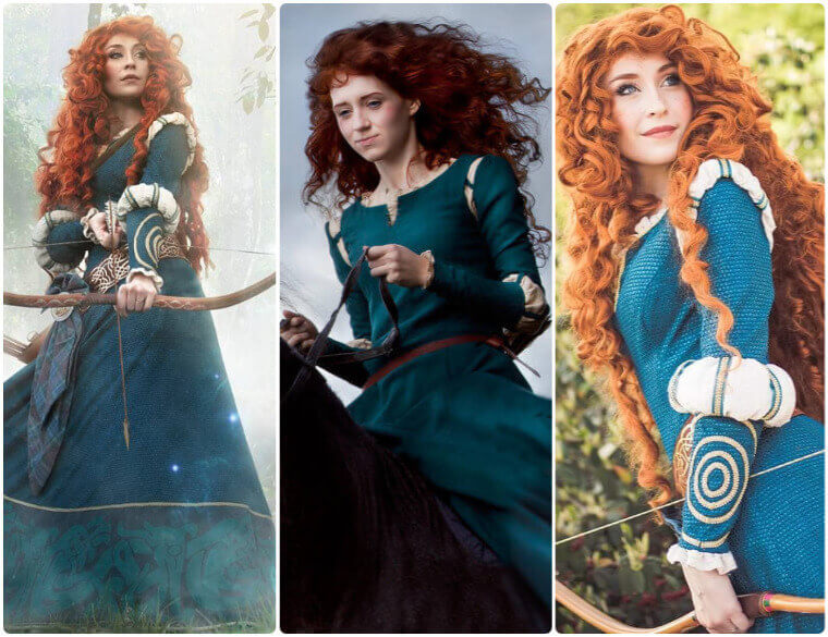 How To Dress Up As Brave Merida Without Sewing Shecos Blog