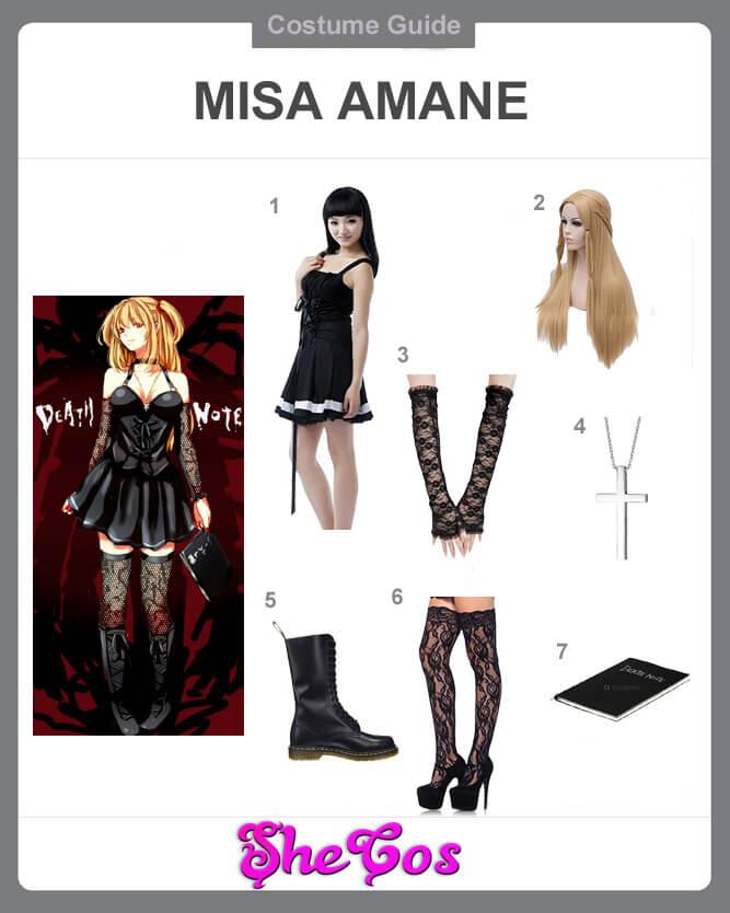 misa amane cosplay guide