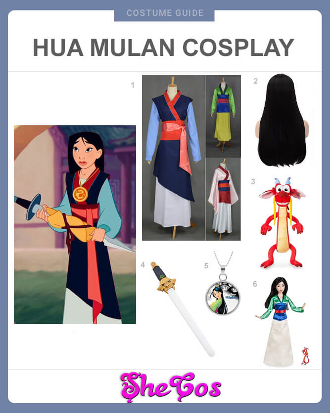 mulan costume guide