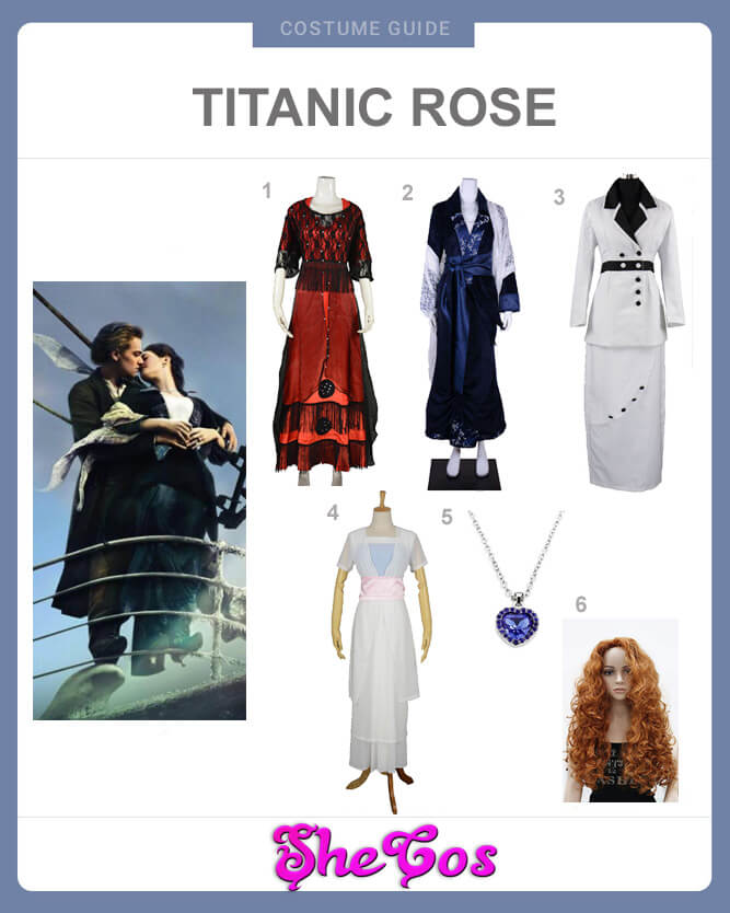 The Ultimate Guide For Titanic Rose Dresses Shecos Blog
