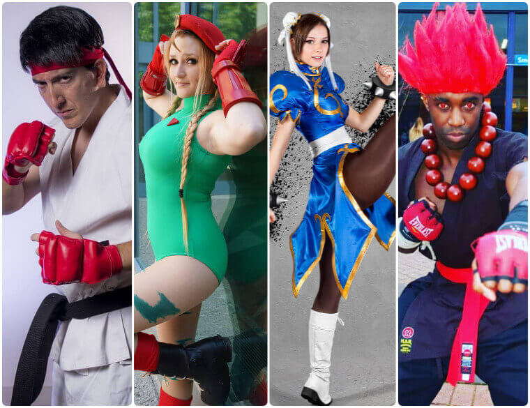 Best Easy Ideas To Dress Up Street Fighter Heroes Shecos Blog
