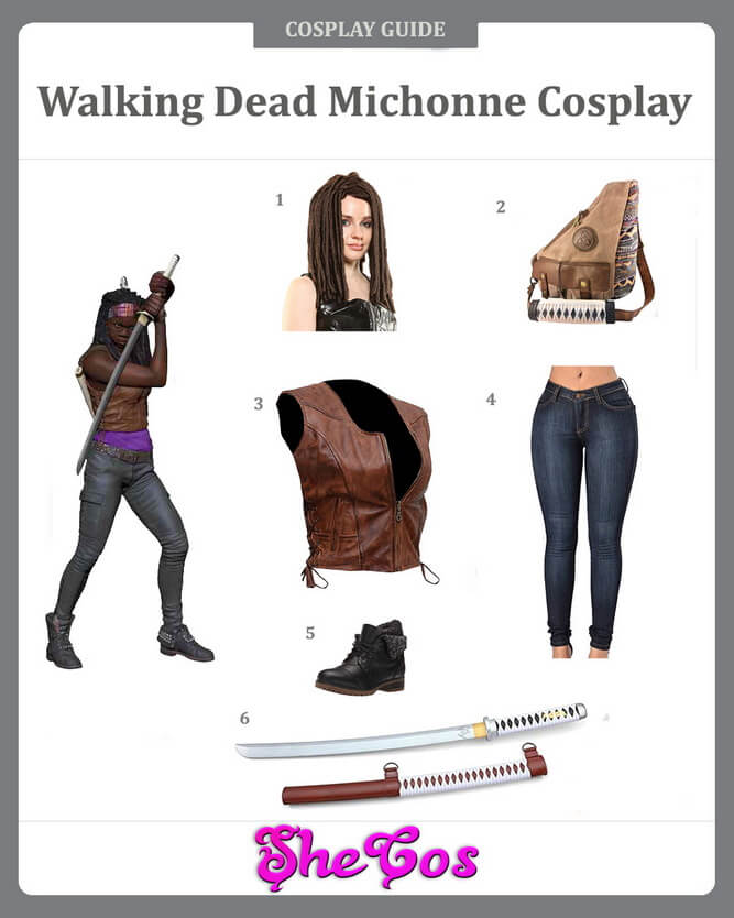 walking dead michonne cosplay guide