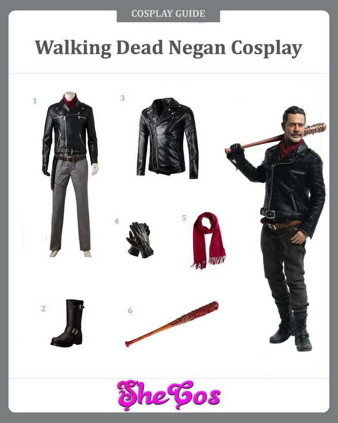 walking dead negan cosplay