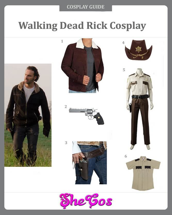 walking dead rick cosplay guide