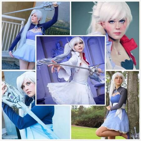 weiss cosplay