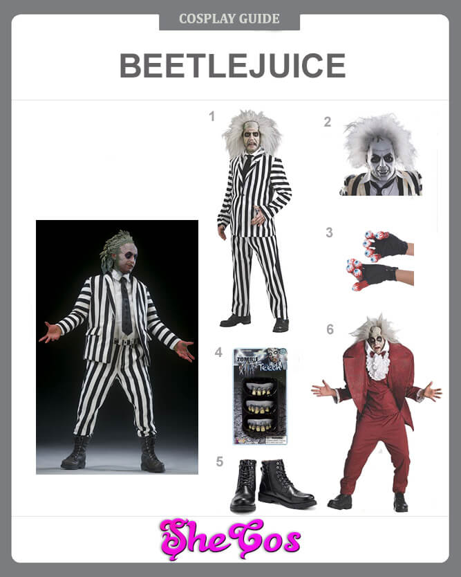 The Best Beetlejuice Costume Collection Of Movie Betelgeuse