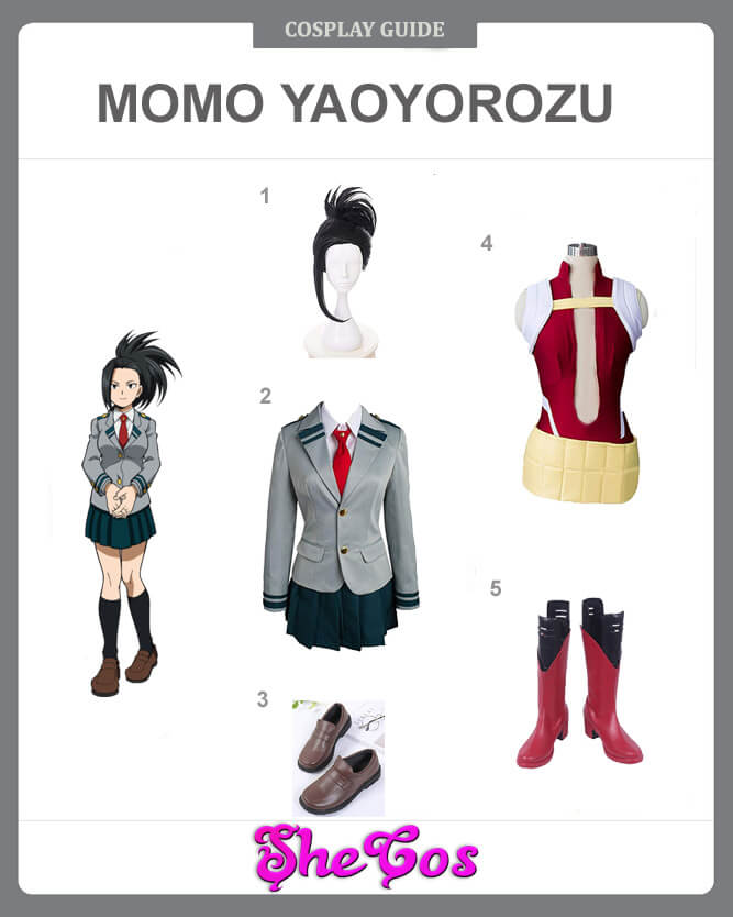 Momo Yaoyorozu cosplay guide