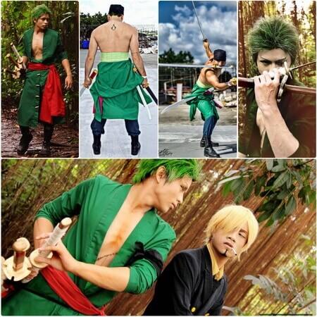 best one piece Roronoa Zoro cosplay