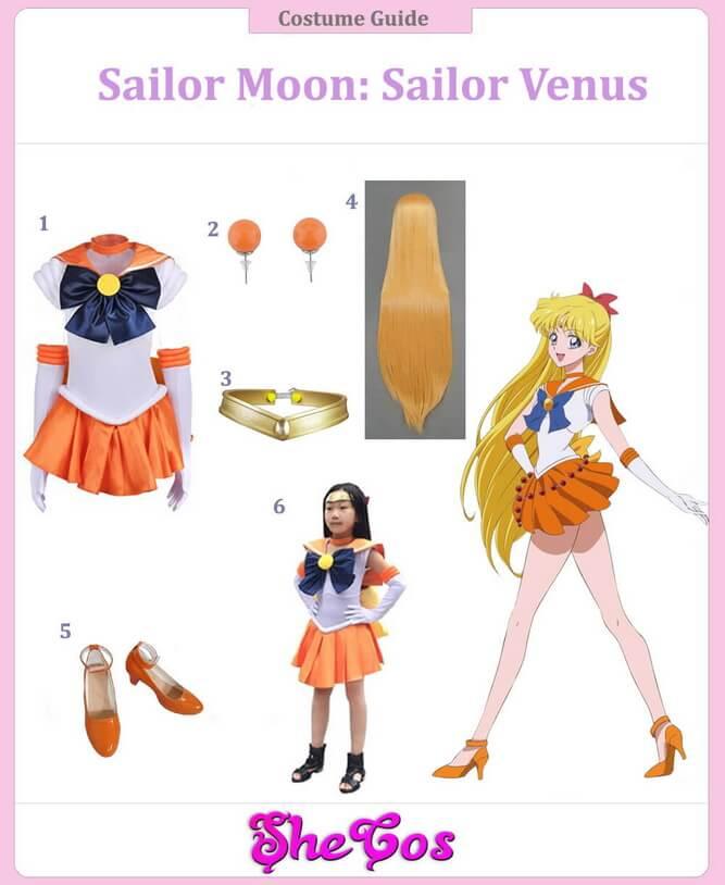 Sailor Venus Cosplay Guide