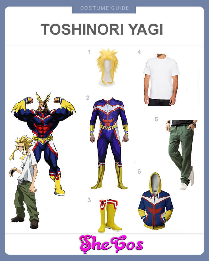all might cosplay guide